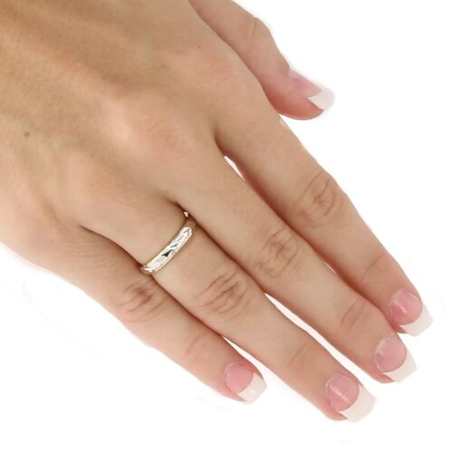 Palm Beach Jewelry Tutone Wedding Band