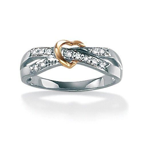 10k Gold Diamond Acc. Fashion Ring
