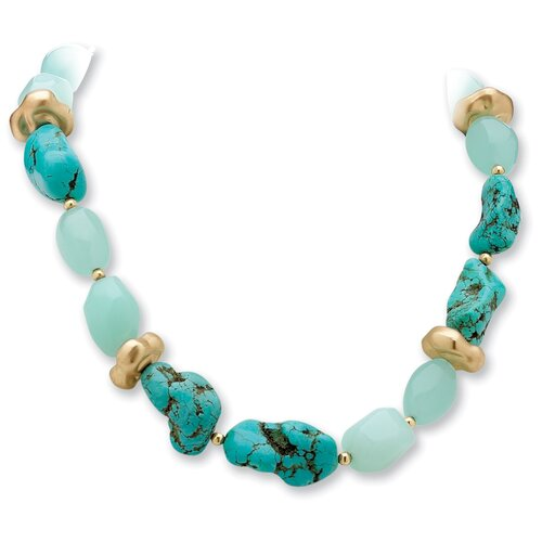Palm Beach Jewelry Viennese Turquoise Necklace