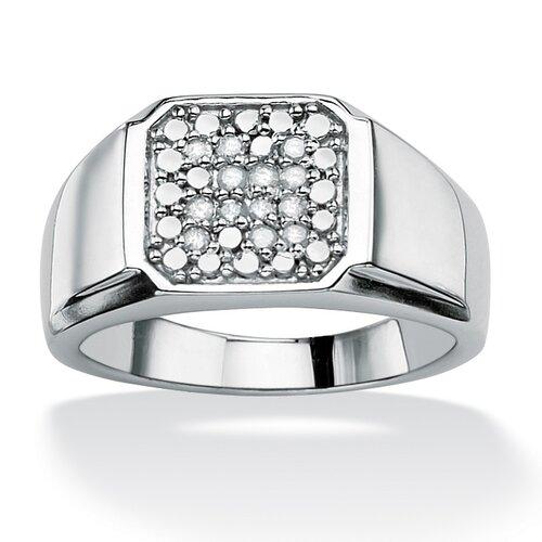 Men's Round Cut Diamond Ring