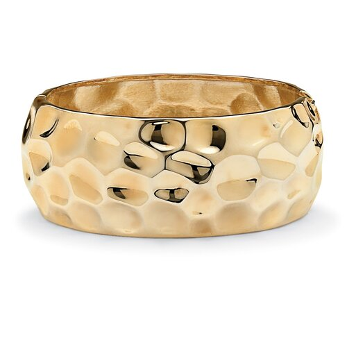 Hammered-Style Bangle Bracelet