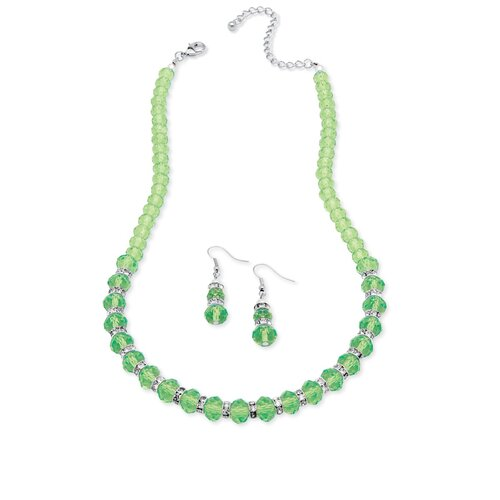 Palm Beach Jewelry Beaded Birthstone Jewelry Set