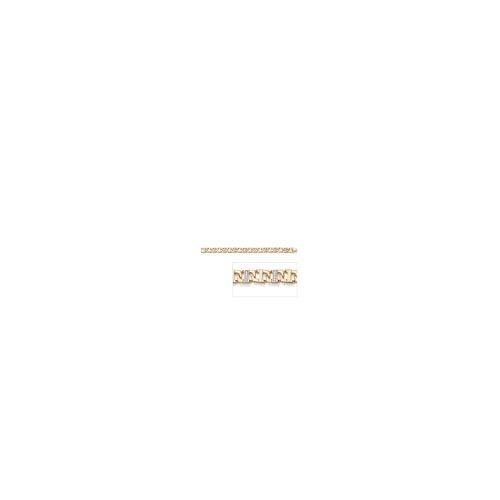 Cubic Zirconia Men's Link Bracelet
