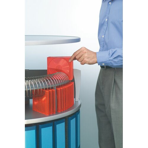 Bindertek Dealer Solutions CD Organizer for Binder & File Storage Carousel