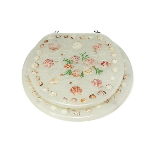 Trimmer Polyresin Round Toilet Seat