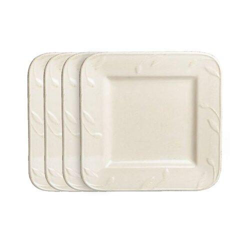 "Signature Housewares Sorrento 9"" Square Salad Plate"