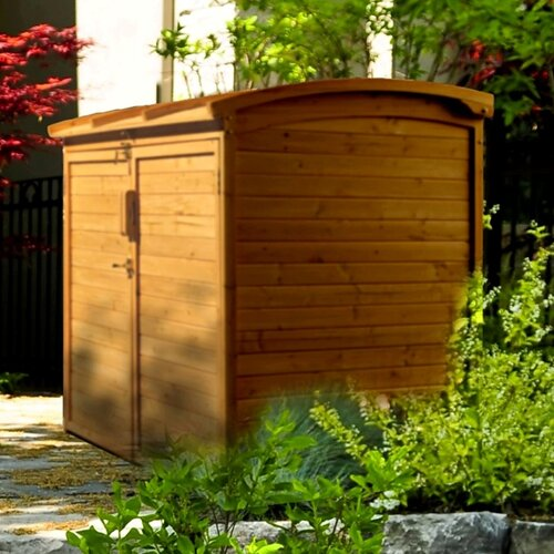Leisure Season 5 ft. W x 3 ft. D Refuse Wood Storage Shed