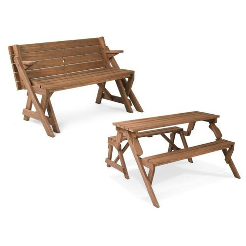Leisure Season Folding Picnic Table And Bench Amp Reviews
