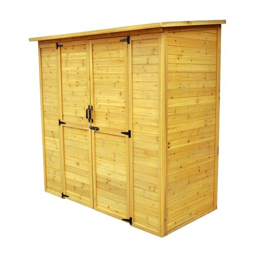 Leisure Season 6ft. W x 3ft. D Wood Lean-To Storage Shed