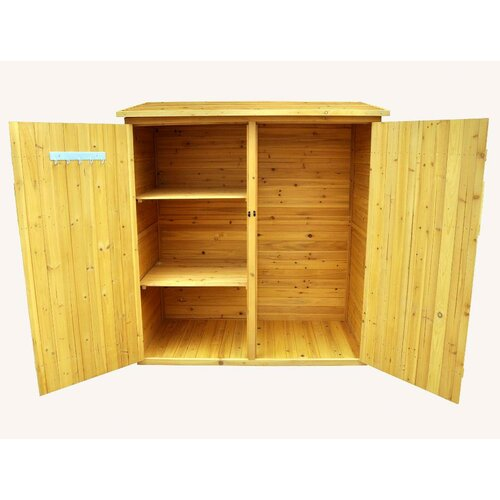 Leisure Season 5ft. W x 2.5ft. D Wood Lean-To Shed
