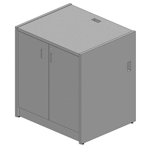 Paragon Furniture Circulation Hinged Door Unit Desk