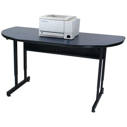 Paragon Furniture Half Moon Printer Stand