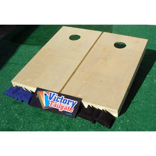 Victory Tailgate Hardcourt Series Wooden Cornhole Set