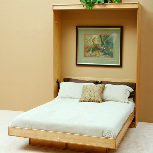 Transitional Birch Murphy Bed