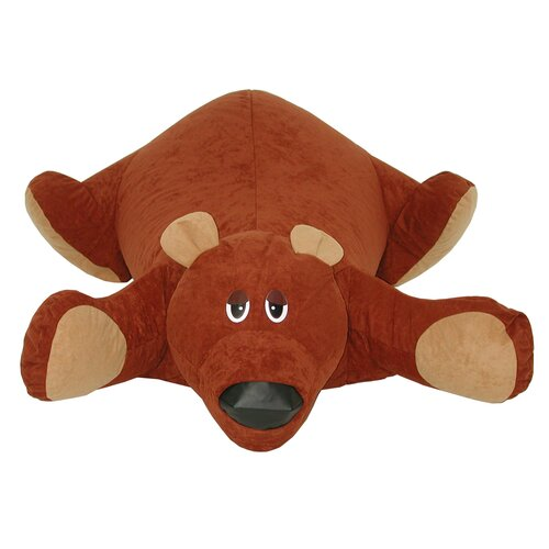 Elite Products Child Plush Baby Bear Rug Pals Bean Bag Chair
