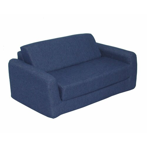 Elite Products Children's Polyester Sleeper Sofa