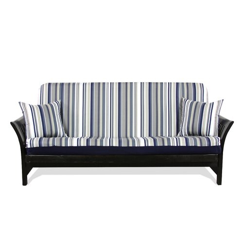 Elite Products Modern Loft Newport Navy Stripe Designer Print Slipcover