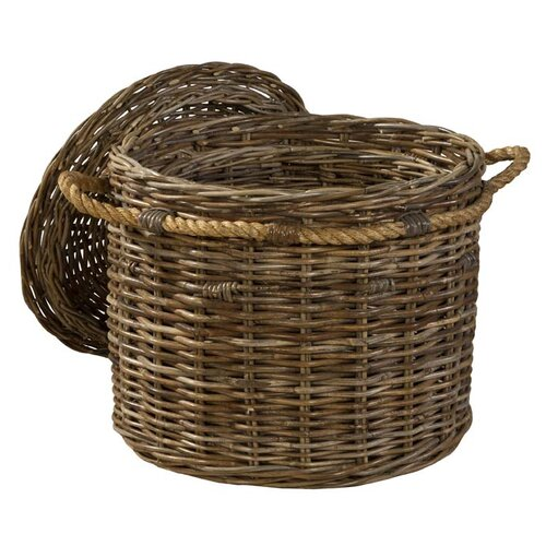 South Beach Round Covered Basket