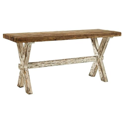 Cross Chic Console Table