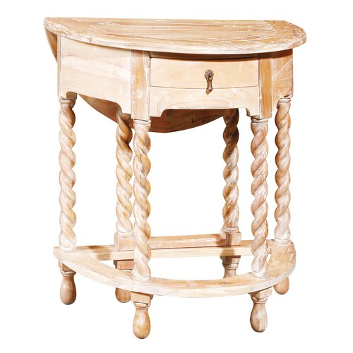 Furniture Classics LTD Gateleg Rope Twist End Table