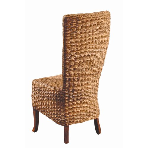 Furniture Classics LTD Madura Wicker Parson Chair