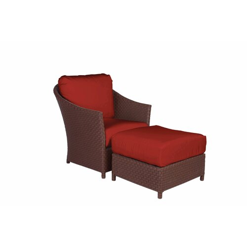 George Town Ottoman with Cushion