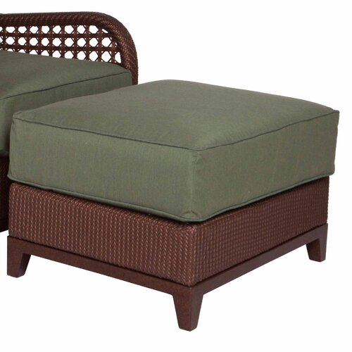 Acacia Home and Garden Aberdeen Ottoman with Cushion