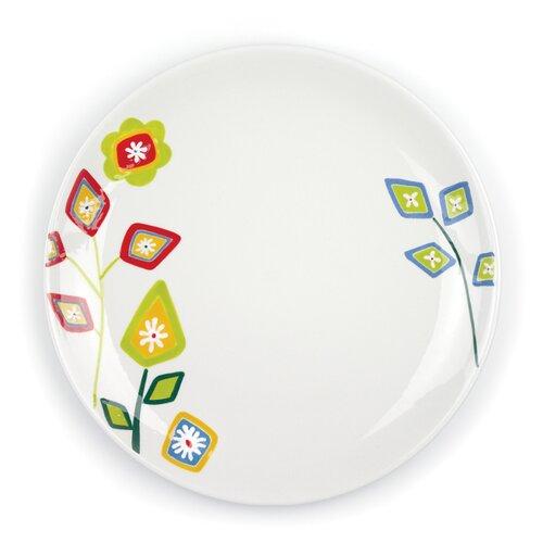 "Omniware Jardin Matisse 10.5"" Multi Dinner Plate"