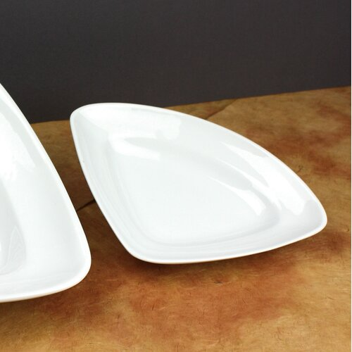 "Omniware Culinary Proware 8"" Small Triangle Plate"