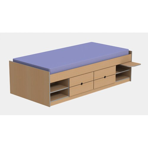 Ashcraft Teen Functional Cabin Bed Frame