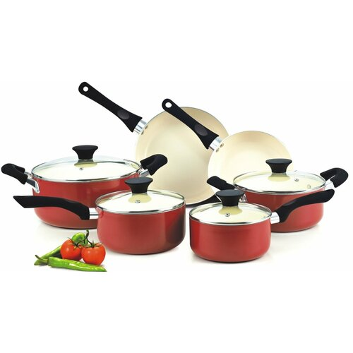 Cook N Home Nonstick 10-Piece Cookware Set
