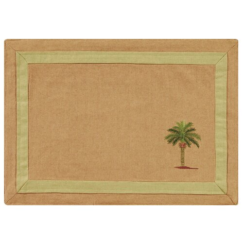 C & F Enterprises Cabana Palm Placemat
