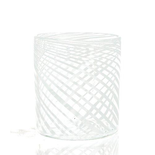 C & F Enterprises Swirl Glass Container