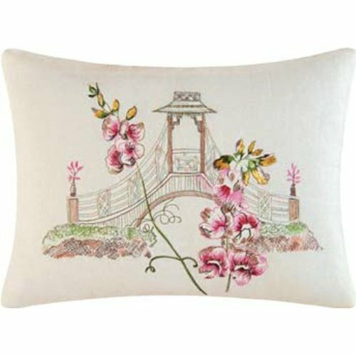 C & F Enterprises Garden Folly Linen Accent Pillow