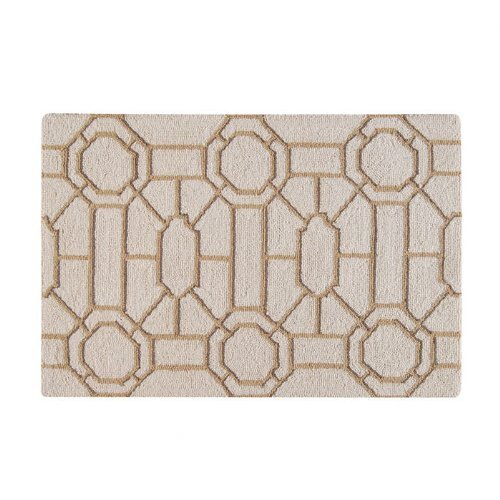 C & F Enterprises Garden Folly Beige Rug