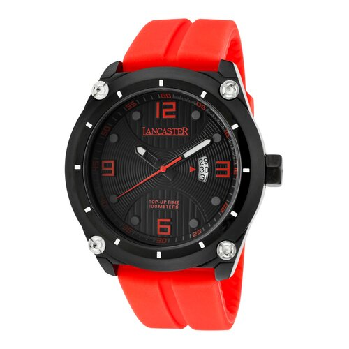 Men's Trendy Top-Up Time Round Watch