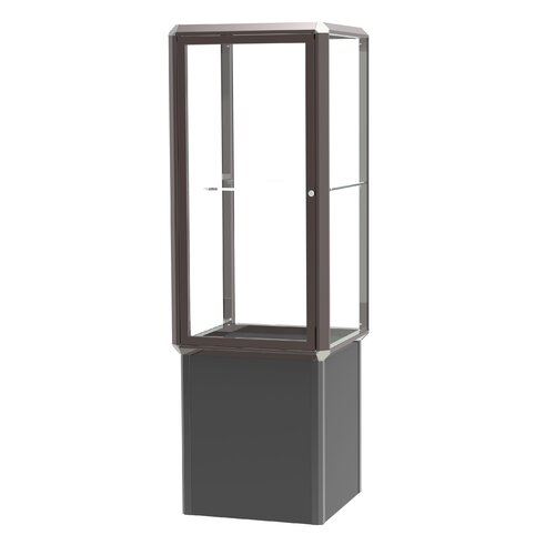 Waddell Prominence Spotlight Series Tower Display Case