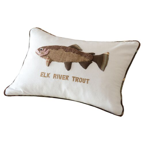 Taylor Linens Elk River Trout Pillow