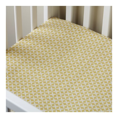 Taylor Linens Charleston Crib Fitted Sheet