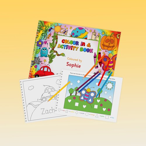 Signature Gifts Personalized Activity Book