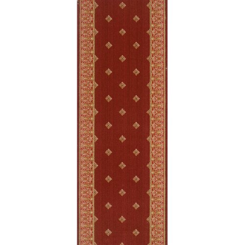 Rivington Rug Majestic Higgins Red Stone Rug