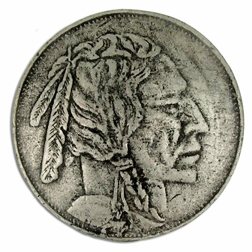 Curiosities Indian Head Nickel 1.5