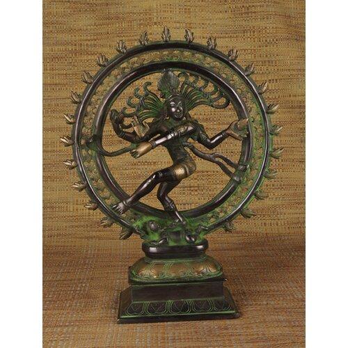 Miami Mumbai Brass Series Nataraja Figurine