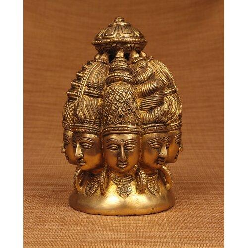 Miami Mumbai Brass Series Shiva 8 Faces Figurine