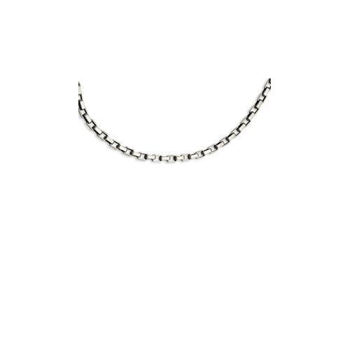 Jewelryweb Stainless Steel Link Necklace - 22 Inch