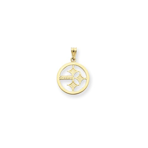 14k NFL Pittsburgh Steelers Charm