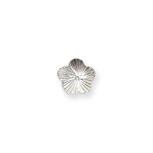 Jewelryweb 14k White Gold Fancy Earrings Jackets