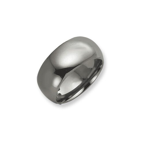 Jewelryweb Tungsten 10mm Polished Band Ring