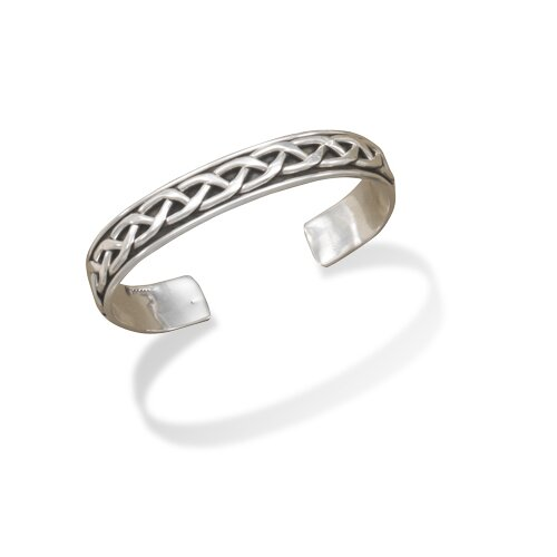 Jewelryweb Braided Cuff Bracelet