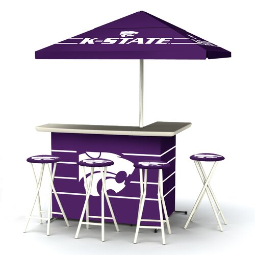 5 Piece Kansas State Bar Set